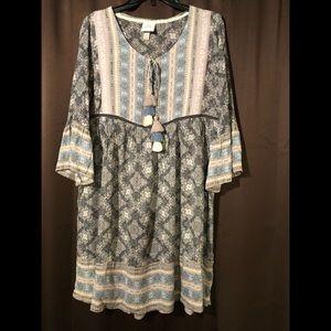 Knox Rose midi dress